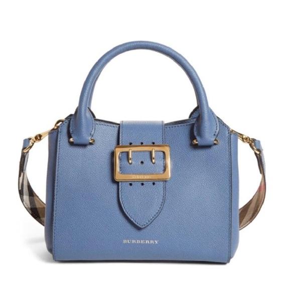 803432b9934 Burberry Bags | Small Buckle Top Handle House Check Tote | Poshmark